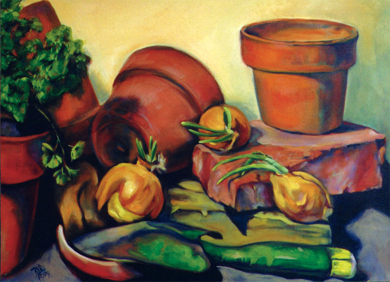 Clay Pots & Onions