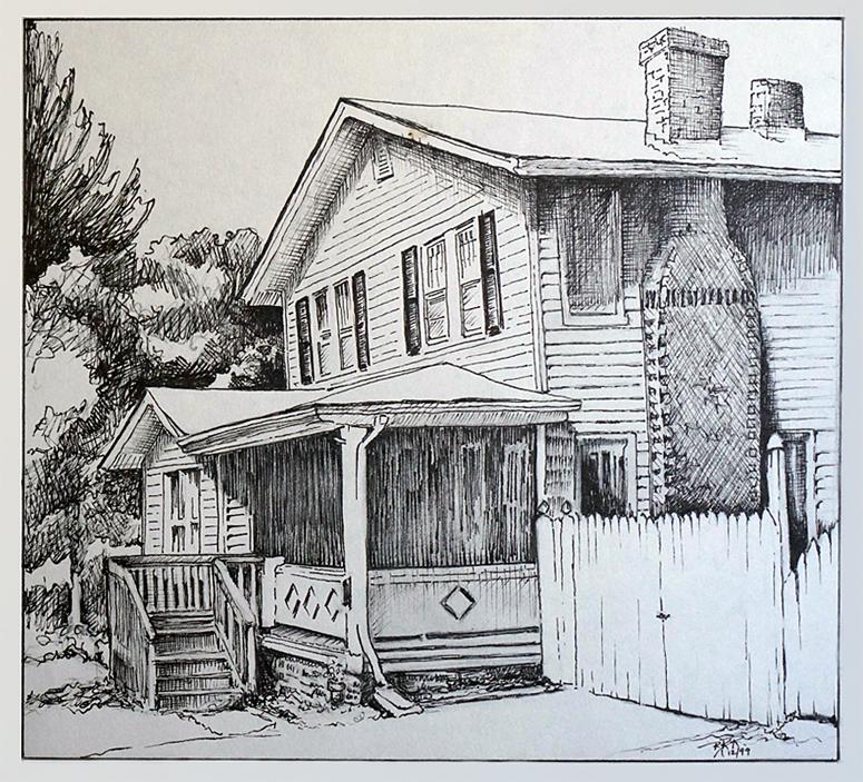 House on Louisiana