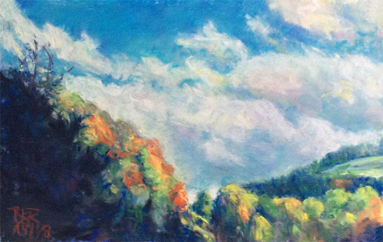 Blue Ridge Mountain Sky