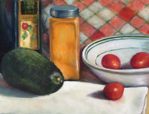 Still Life with Avocado