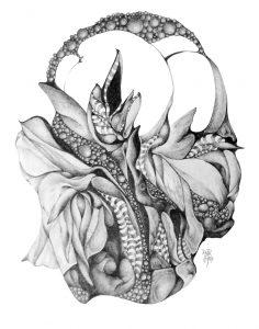 metanoia series abstract entitled pabulum artist Rosemarie K. Robuck
