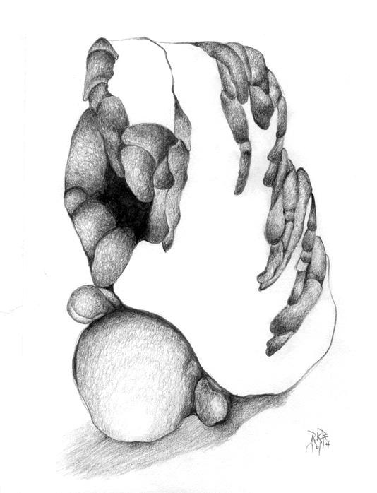 metanoia series abstract entitled patina artist Rosemarie K. Robuck