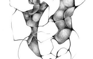 metanoia series abstract entitled pulse artist Rosemarie K. Robuck