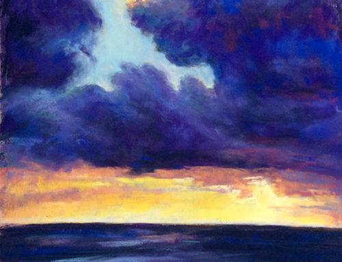 Evening Clouds, Hawaii
