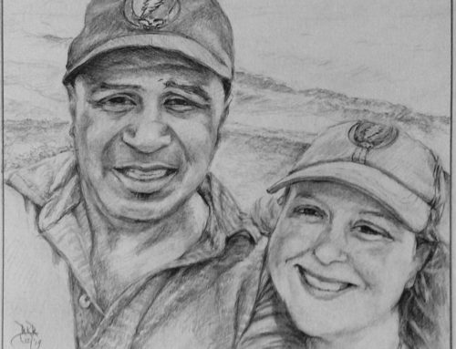 Portrait of Ray & Tiffany
